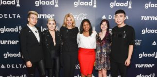 UofL graduate and grad student Aisha Bibbs (middle) has been awarded the Rising Stars grant by GLAAD (formerly the Gay & Lesbian Alliance Against Defamation).