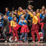 Sorority competes in 2017 Fryberger Greek Sing.