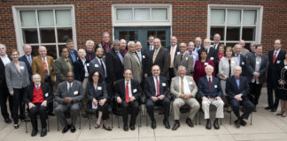A total of 58 faculty members from across both campuses were recognized for milestone service.