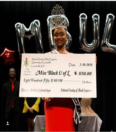 Mikaylah Clipper, a public health major, was crowned Miss Black UofL 2018.Clipper also won the Professor Hart award.