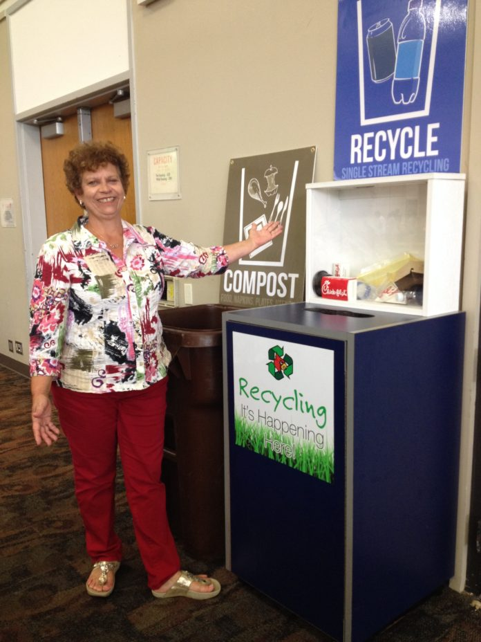 UofL is one of the nation's top schools for recycling.